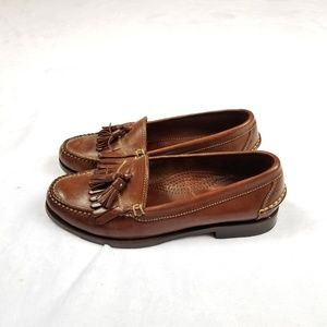 Cole Haan Brown Tassel Loafers. Size 8M